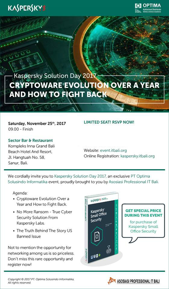 Kaspersky Solusion Day 2017