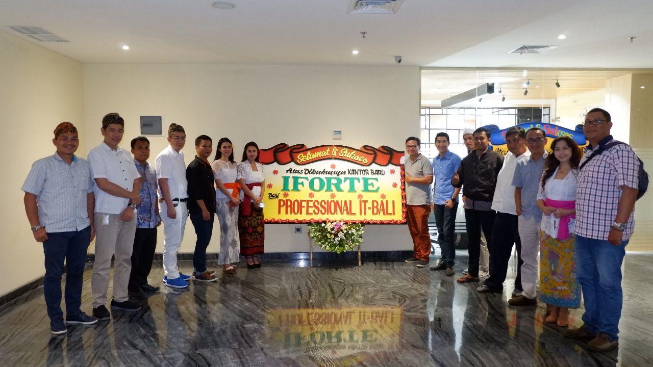 Peresmian Kantor Cabang Baru IForte di Bali
